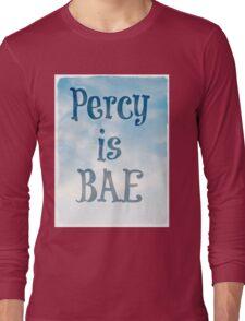 Percy is BAE Long Sleeve T-Shirt