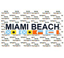 Miami Beach. Photographic Print