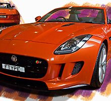 The New F-Type Jaguar by TeaCee
