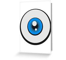 Eye Logo Design Greeting Card