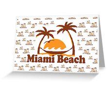 Miami Beach. Greeting Card