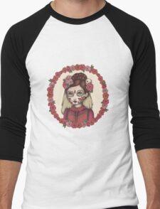 Lace & Rose - Sugarskull sister Men's Baseball ¾ T-Shirt