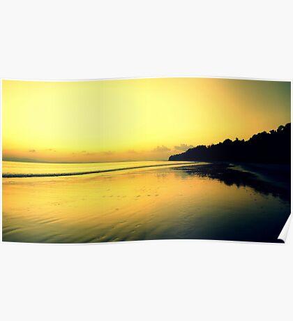 Andaman Sunset Poster