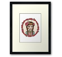 The Little Sister - Sugarskull sisters Framed Print