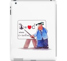 Love And Peace Equation Cartoon iPad Case iPad Case/Skin