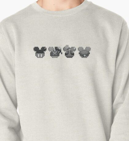 Mickey Donald Goofy and Pluto Chaser Pin Pullover