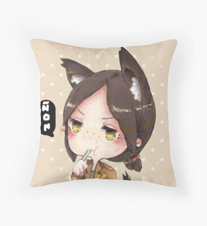 Yummy Yumiru Throw Pillow