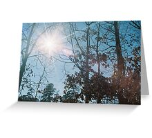 Solar Flare Greeting Card