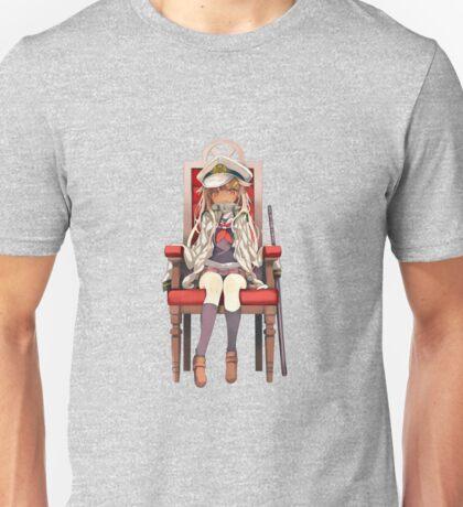 Little Yuudachi as Admiral Unisex T-Shirt
