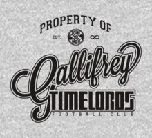 Property of Gallifrey Timelords Football Club by M. Dean Jones