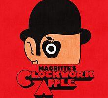 Magritte's Clockwork Apple by Budi Satria Kwan