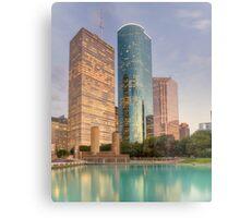 Houston Skyscrapers Metal Print