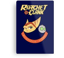 Ratchet & Clank Metal Print