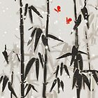 Winter time in bamboo forest by Budi Satria Kwan