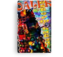 Dalek - Exterminate! by Mark Compton Canvas Print