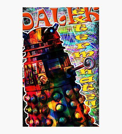 Dalek - Exterminate! by Mark Compton Photographic Print