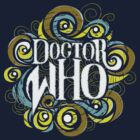 Whimsically Wibbly Wobbly Timey Wimey - Dark Shirt The First by Megloo