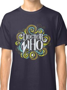 Whimsically Wibbly Wobbly Timey Wimey - Dark Shirt The First Classic T-Shirt