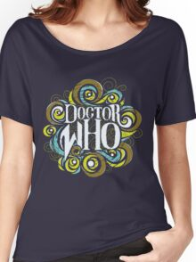 Whimsically Wibbly Wobbly Timey Wimey - Dark Shirt The First Women's Relaxed Fit T-Shirt