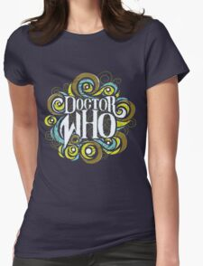Whimsically Wibbly Wobbly Timey Wimey - Dark Shirt The First Womens Fitted T-Shirt