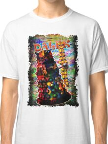 Dalek - Exterminate! by Mark Compton Classic T-Shirt