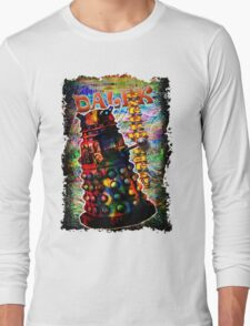 Dalek - Exterminate! by Mark Compton Long Sleeve T-Shirt
