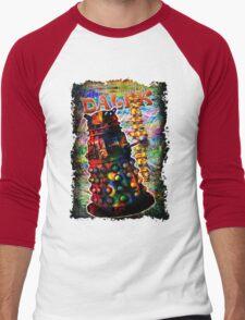 Dalek - Exterminate! by Mark Compton Men's Baseball ¾ T-Shirt