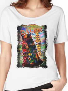 Dalek - Exterminate! by Mark Compton Women's Relaxed Fit T-Shirt