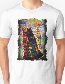Dalek - Exterminate! by Mark Compton Unisex T-Shirt