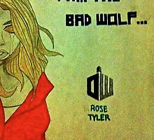 Rose Tyler the Bad Wolf by Raymond Park