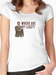 Anchorman 2: Where Are My Legs?! Women's Fitted Scoop T-Shirt