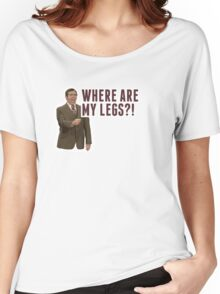 Anchorman 2: Where Are My Legs?! Women's Relaxed Fit T-Shirt