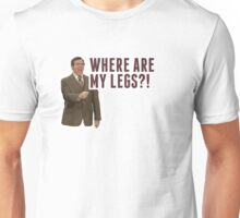 Anchorman 2: Where Are My Legs?! Unisex T-Shirt