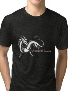 spirited away haku dragon Tri-blend T-Shirt