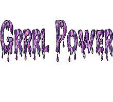 Grrrl Power by Andreen Hodge