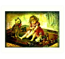 A CHILDS CHRISTMAS Art Print