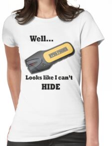 Stud Finder Womens Fitted T-Shirt
