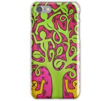 Tree of Life [Haring's Copy] iPhone Case/Skin