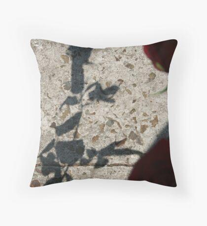 Rorschach Panda Throw Pillow