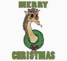 Giraffe in a Wreath Kids Clothes