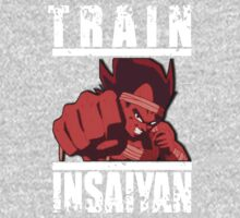 train insaiyan VEGETA (white) by KingKoko