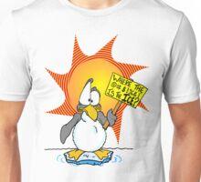 Penguin Misses the Ice Unisex T-Shirt