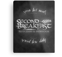 Second Breakfast Restaurant & Brewhouse Metal Print