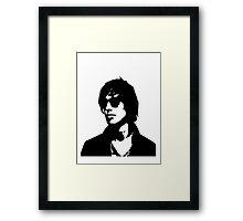 Julian Casablancas Framed Print