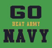 Go Navy, Beat Army!! Baby Tee