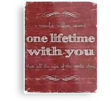 One Lifetime With You Metal Print