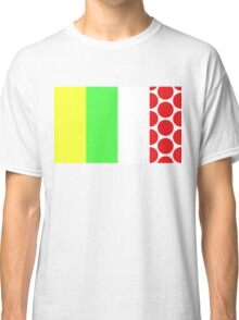 Tour de France Jerseys (Vertical) Classic T-Shirt