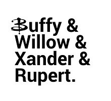 Buffy The Vampire Slayer Names  by onezenmom