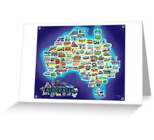 Pictorial Australia Greeting Card