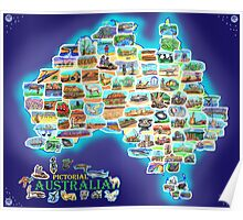 Pictorial Australia Poster